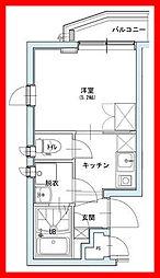 東京都荒川区町屋1丁目の賃貸マンションの間取り