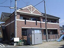 京都府城陽市寺田水度坂の賃貸アパートの外観
