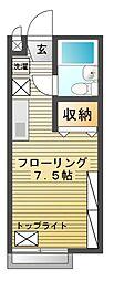 ドリームアカシ[1階]の間取り