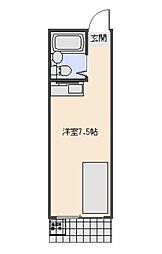 モナークハイムII[101号室号室]の間取り