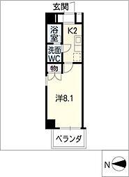 AMBER HOUSE[11階]の間取り