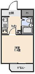 アビタシオン[207号室]の間取り