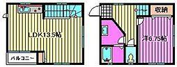 [テラスハウス] 埼玉県さいたま市大宮区上小町 の賃貸【/】の間取り