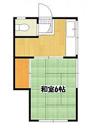 たのし荘[2階]の間取り