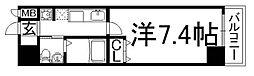 京都府京都市下京区妙伝寺町の賃貸マンションの間取り