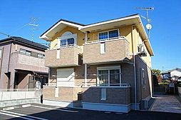埼玉県行田市城南の賃貸アパートの外観