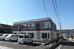広島県福山市伊勢丘3の賃貸アパートの外観