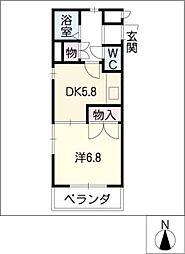 シャンポール大須[2階]の間取り