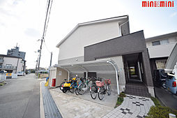 兵庫県伊丹市昆陽東6丁目の賃貸アパートの外観