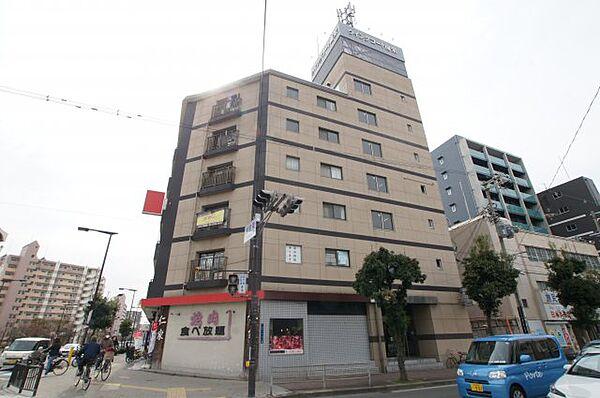 ウイングコート南栄[6階]の外観