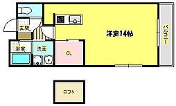Casa de viola[2階]の間取り