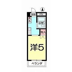 第153 VIP宮原[303号室]の間取り