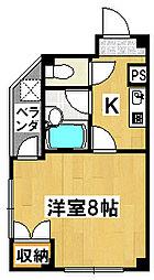 メゾン阪本[4階]の間取り