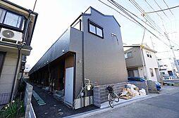 兵庫県川西市中央町の賃貸アパートの外観