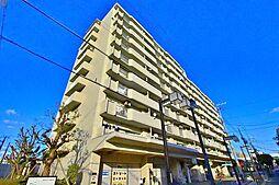 大和川コーポ1号棟[8階]の外観