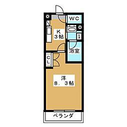 シティライフ藤ヶ丘西[5階]の間取り