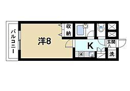 EXCELENTE FABRICA[6階]の間取り