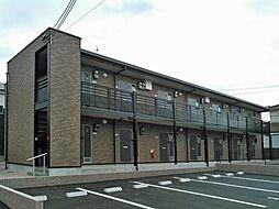 兵庫県三木市志染町中自由が丘2丁目の賃貸アパートの外観