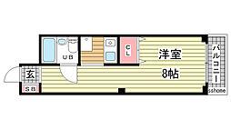 メゾンドグランメール[2階]の間取り