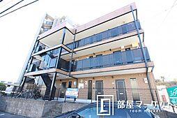 愛知県豊田市新生町1丁目の賃貸アパートの外観