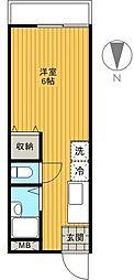 サンフラワーS[2階]の間取り