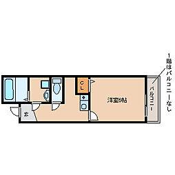 クリアハイム出屋敷[3階]の間取り