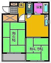 コートビレッジ[2階]の間取り