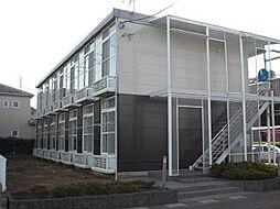 埼玉県さいたま市岩槻区平林寺の賃貸アパートの外観