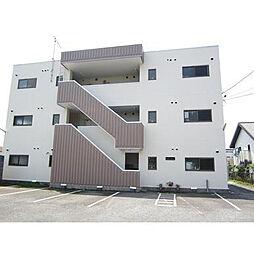 神奈川県伊勢原市神戸の賃貸マンションの外観