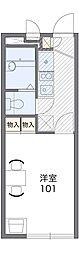 ウィステリア平井[1階]の間取り