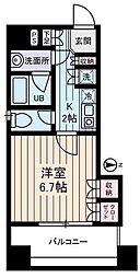 西川ビル[701号室]の間取り