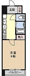 S-FORT京都西大路(旧・グランドパレス西大路七条)[302号室号室]の間取り