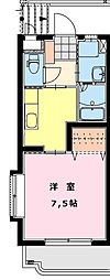 メゾンドール青葉[4階]の間取り