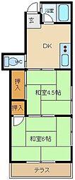 タウンハウス・アミィ[2階]の間取り