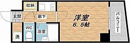 大国町青山ビル別館[5階]の間取り