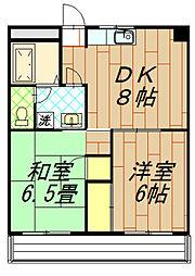 高倉ビル[203号室]の間取り