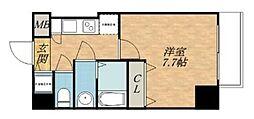 S-RESIDENCE緑橋駅前[3階]の間取り
