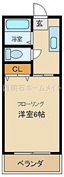 フジメゾンコート[1階]の間取り