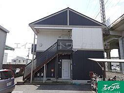 滋賀県大津市下阪本1丁目の賃貸アパートの外観
