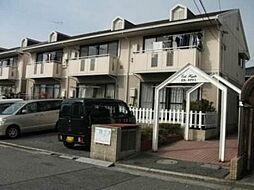 広島県広島市南区向洋新町2丁目の賃貸アパートの外観
