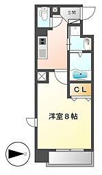 ヒルサイドコート[4階]の間取り