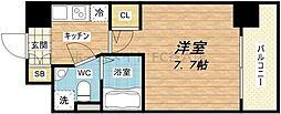 SERENiTE本町エコート[4階]の間取り