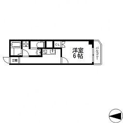 ヴェルドミール小阪[5階]の間取り