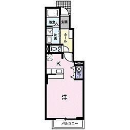 パル スクエア II[1階]の間取り