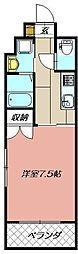 リファレンス小倉駅前[1303号室]の間取り