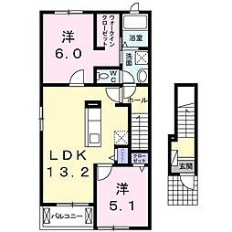 ランドマーク88 B棟[2階]の間取り