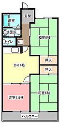 飯尾第1メゾン[2階]の間取り