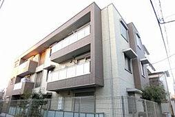 東京都昭島市朝日町1丁目の賃貸マンションの外観