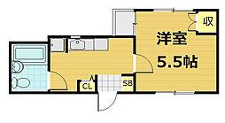 ルモンド三宅[404号室号室]の間取り
