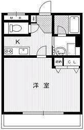 アマンスィート[4階]の間取り